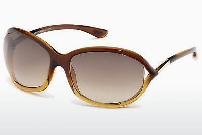 Sonnenbrille Tom Ford Jennifer (FT0008 50F) - Braun