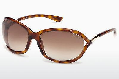 Sonnenbrille Tom Ford Jennifer (FT0008 52F) - Braun, Havanna
