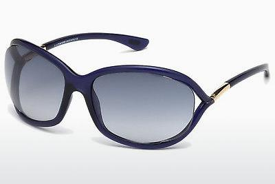 Sonnenbrille Tom Ford Jennifer (FT0008 90W) - Blau