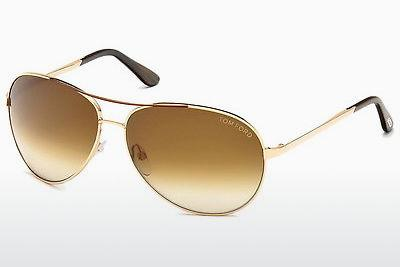Sonnenbrille Tom Ford Charles (FT0035 772) - Gold