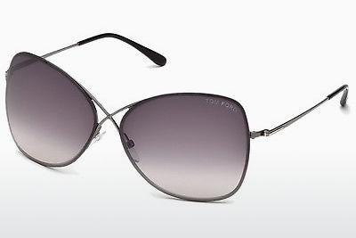 Sonnenbrille Tom Ford Colette (FT0250 08C) - Grau, Shiny