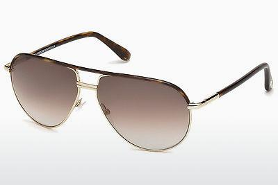 Sonnenbrille Tom Ford Cole (FT0285 52K) - Braun, Dark, Havana