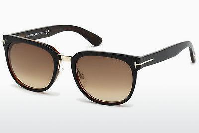 Sonnenbrille Tom Ford Rock (FT0290 01F) - Schwarz, Shiny