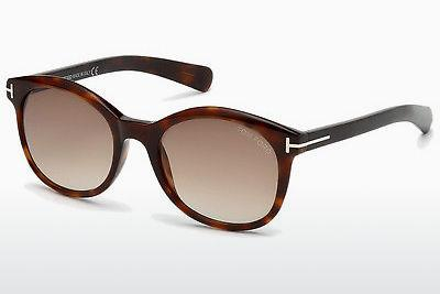 Sonnenbrille Tom Ford Riley (FT0298 52F) - Braun, Dark, Havana