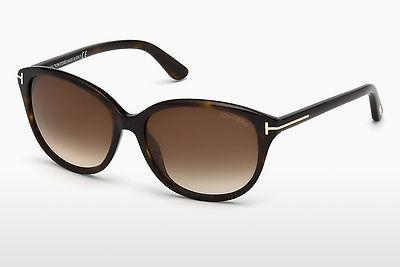 Sonnenbrille Tom Ford Karmen (FT0329 52F) - Braun, Dark, Havana