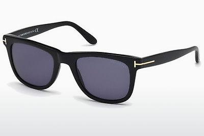 Sonnenbrille Tom Ford Leo (FT0336 01V) - Schwarz, Shiny
