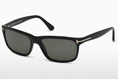 Sonnenbrille Tom Ford Hugh (FT0337 01N) - Schwarz