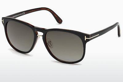 Sonnenbrille Tom Ford Franklin (FT0346 01V) - Schwarz