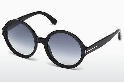 Sonnenbrille Tom Ford Juliet (FT0369 01B) - Schwarz, Shiny