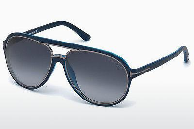 Sonnenbrille Tom Ford Sergio (FT0379 89W) - Blau, Turquoise