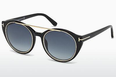Sonnenbrille Tom Ford Joan (FT0383 01W) - Schwarz, Shiny