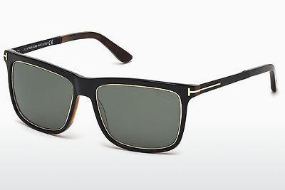Sonnenbrille Tom Ford Karlie (FT0392 01R) - Schwarz, Shiny