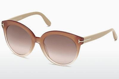 Sonnenbrille Tom Ford Monica (FT0429 74F) - Rosa, Rosa