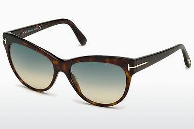 Sonnenbrille Tom Ford Lily (FT0430 52P) - Braun, Dark, Havana