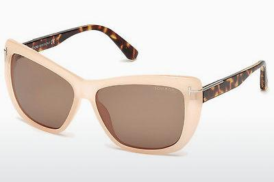Sonnenbrille Tom Ford Linsday (FT0434 72J) - Gold, Rosa