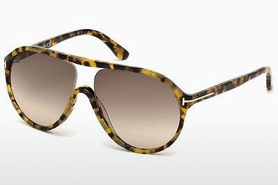 Sonnenbrille Tom Ford Edison (FT0443 53F) - Havanna, Yellow, Blond, Brown