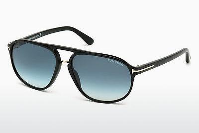 Sonnenbrille Tom Ford Jacob (FT0447 01P) - Schwarz, Shiny