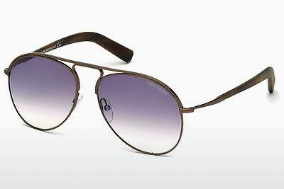 Sonnenbrille Tom Ford Cody (FT0448 48Z) - Braun, Dark, Shiny