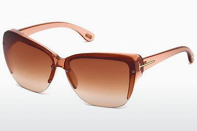 Sonnenbrille Tom Ford FT0457 74F - Rosa, Rosa