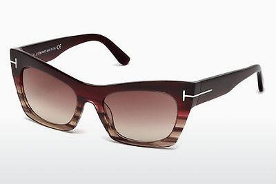 Sonnenbrille Tom Ford FT0459 71F - Burgund, Bordeaux