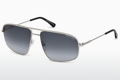 Sonnenbrille Tom Ford FT0467 17W - Grau, Matt, Palladium