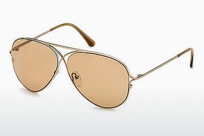 Sonnenbrille Tom Ford Tom N.4 (FT0488-P 28E) - Gold