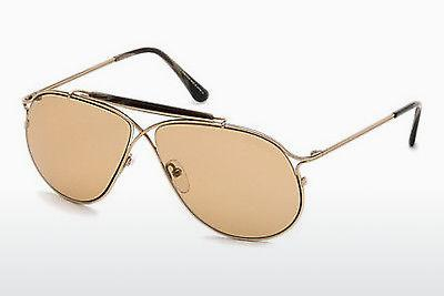 Sonnenbrille Tom Ford Tom N.6 (FT0489-P 28E) - Gold