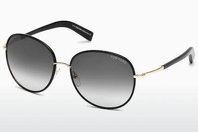 Sonnenbrille Tom Ford Georgia (FT0498 01B) - Schwarz, Shiny