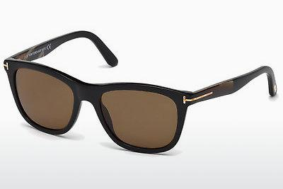 Sonnenbrille Tom Ford Andrew (FT0500 01H) - Schwarz, Shiny