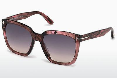 Sonnenbrille Tom Ford Amarra (FT0502 74B) - Rosa, Rosa