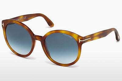 Sonnenbrille Tom Ford Philippa (FT0503 53W) - Havanna, Yellow, Blond, Brown
