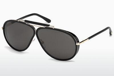 Sonnenbrille Tom Ford Cedric (FT0509 01A) - Schwarz, Shiny
