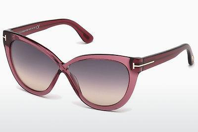 Sonnenbrille Tom Ford Arabella (FT0511 69B) - Burgund, Bordeaux, Shiny