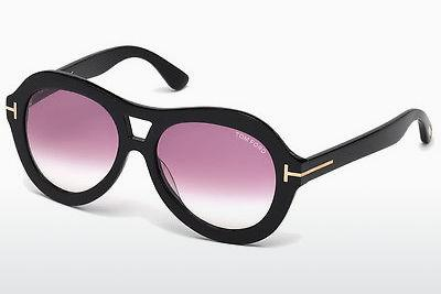 Sonnenbrille Tom Ford Isla (FT0514 01Z) - Schwarz, Shiny