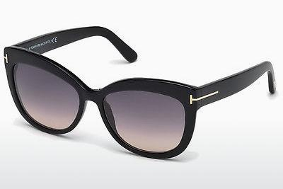 Sonnenbrille Tom Ford Alistair (FT0524 01B) - Schwarz, Shiny