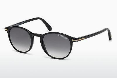 Sonnenbrille Tom Ford Andrea (FT0539 01B) - Schwarz, Shiny