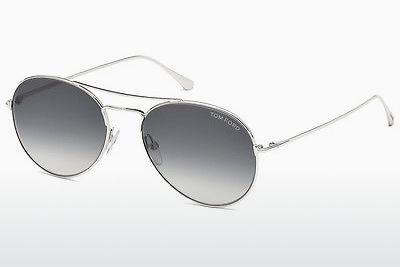 Sonnenbrille Tom Ford Ace (FT0551 18B) - Silber, Shiny