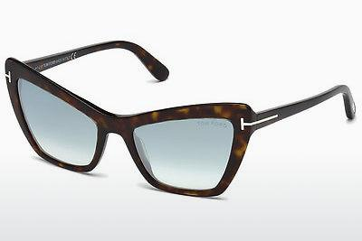 Sonnenbrille Tom Ford Valesca (FT0555 52X) - Braun, Dark, Havana