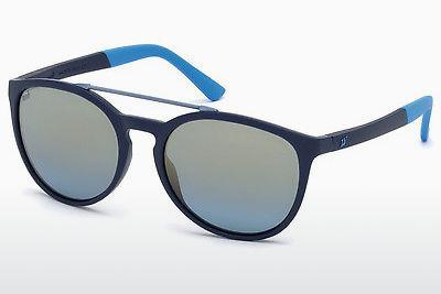 Sonnenbrille Web Eyewear WE0183 91X - Blau, Matt