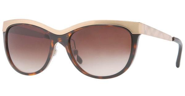 Burberry BE3076Q 120113 BROWN GRADIENTDARK HAVANA