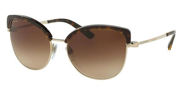 Bvlgari BV6082 278/13 BROWN GRADIENTPALE GOLD/DARK HAVANA
