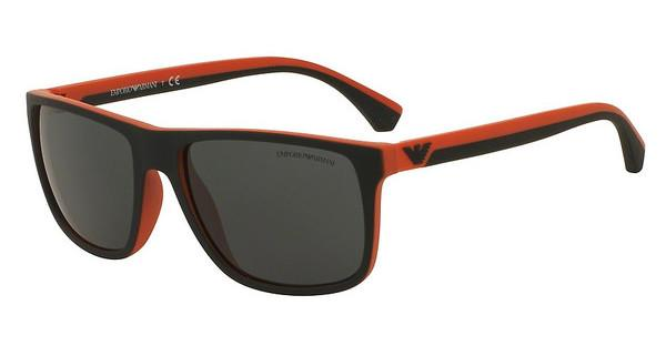 Emporio Armani EA4033 552987 GREYTOP BLACK/ORANGE RUBBER