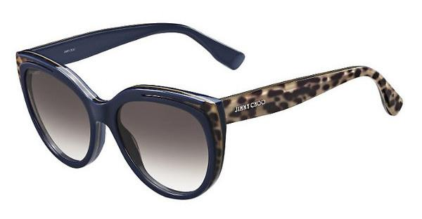 Jimmy Choo NICKY/S PVR/JS BROWN SFANIM BLUE (BROWN SF)