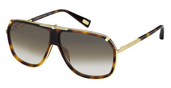 Marc Jacobs MJ 305/S 001/JS BROWN SFYELL GOLD (BROWN SF)