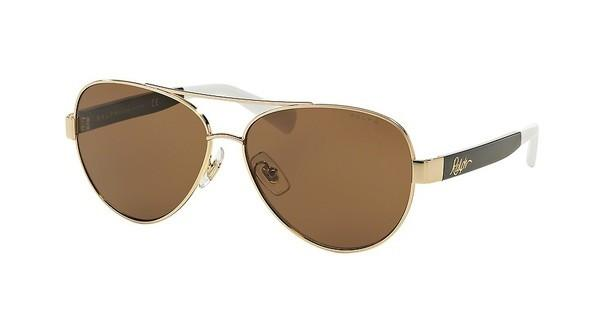 Ralph RA4114 313373 DARK BROWN SOLIDGOLD/BLACK