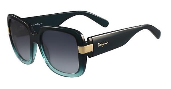 Salvatore Ferragamo SF779S 313 GREEN GRADIENT