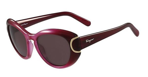 Salvatore Ferragamo SF818S 605 BURGUNDY GRADIENT