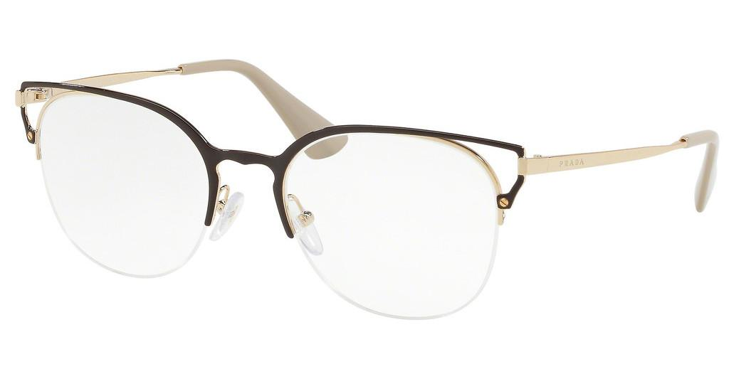 Prada   PR 64UV 98R1O1 BROWN/GOLD