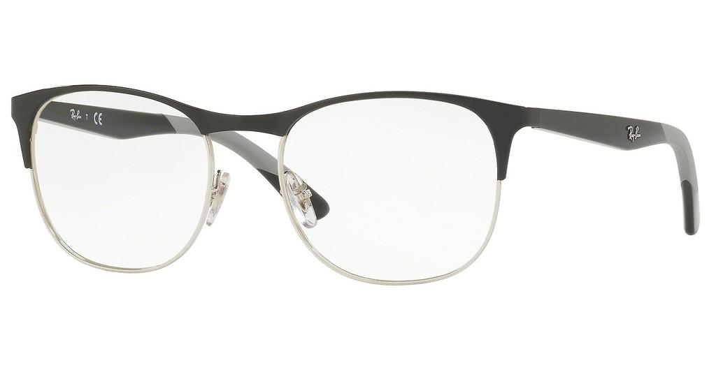 Ray-Ban   RX6412 2861 SILVER TOP BLACK