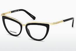 Dsquared2 Herren Brille » DQ5229«, schwarz, 01A - schwarz